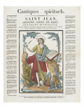 St. John, Apostle Beloved of Dien Fourth Evangelist Giclee Print