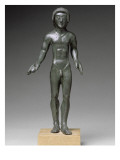 Statuette from a Votive Deposit: Kouros of Falterona Giclee Print