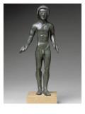 Statuette from a Votive Deposit: Kouros of Falterona Giclee Print