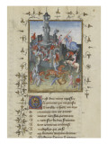 The Book of Changing Fortune by Christine De Pisan. Giclee Print