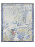"""Esquisse pour """"Le Cirque"""" Giclee Print by Georges Seurat"""