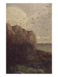 La Baie des Trépassés (Finistère) Giclee Print by Odilon Redon