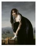 Etude de femme d'aprés nature, dit aussi : Portrait de madame Soustra Giclée-Druck von Marie Denise Villers