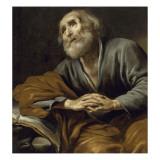 Saint Pierre repentant Giclée-Druck von Claude Vignon