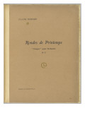 "Spring Rounds: ""Images"" for Orchestra No. 3: Cover Giclee Print by Achille-Claude Debussy"