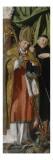 Saint Amand foulant un dragon et un Abbé (Charles de Par ) Lámina giclée