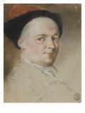 Selbstporträt Giclée-Druck von Nicolas Vleughels