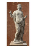 Statue of Unknown Woman with the Attributes of Ceres Giclee Print