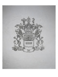 Silver Tray: Retail Arms of the Family of Uckermann Giclee Print