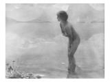 Matinée de septembre Giclée-Druck von François Vizzavona