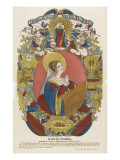 St Mary, Model of Virtues to Present to Young Girls Giclee Print