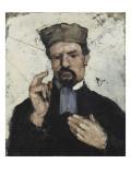 L'Avocat (l'oncle Dominique) Giclee Print by Paul Cézanne