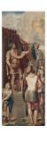 Supplément à la première tenture de l'Histoire de Constantin : La Vision de Constantin. Reproduction procédé giclée par  Raphael
