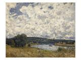 la Seine à Suresnes (Hauts de Seine) Giclee Print by Alfred Sisley