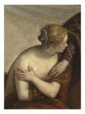 Suzanne et les vieillards Giclée-Druck von Paolo Véronèse