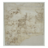 Etude de stalle Giclée-Druck von Andrea del Verrocchio
