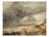 La Baie de Weymouth à l'approche de l'orage Giclee Print by John Constable