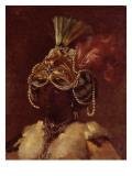 Sultane noire Giclée-Druck von Joseph Marie Vien