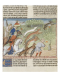 The Book of Gaston Phoebus Hunting: Hunting the Hare Giclee Print