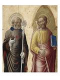 Saint Pétrone et saint Jacques Giclée-Druck von Bartolomeo Vivarini