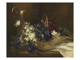 Nature morte : fleurs Giclée-Druck von Antoine Vollon