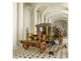 Sedan Voyageaayant Belonged to the Kings of Spain. Giclee Print