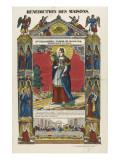 Saint Philomena, Virgin and Martyr, Blessing of Homes Giclee Print