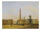 Six petites vues de Paris Giclée-Druck von Francois Etienne Villeret