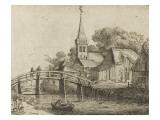 Der Angler Giclée-Druck von Jan Van Goyen