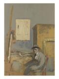 Forain dans son atelier Giclee Print by Edouard Vuillard