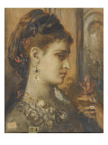 Study for Salome with Beheading of John the Baptist Giclee Print by Gustave Moreau