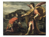 The Angel Raphael to Tobias Ordered to Open the Fish Reproduction procédé giclée
