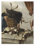 Nature morte au dindon Gicl&#233;e-Druck von Salomon Van Ruysdael