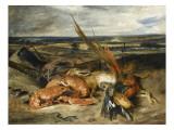 Tableau de nature morte dit Nature morte au homard Impression giclée par Eugene Delacroix