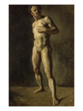 Etude d'homme nu Giclee Print by Eugene Delacroix