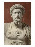 Statue of Marcus Aurelius, Emperor from 161-180 Ad Giclee Print