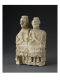 Statue: Couple of Musicians from the Temple of Ishtar Giclee Print