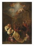 L'adoration des mages Giclée-Druck von Cornelis de Vos