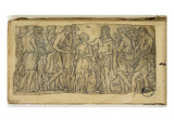 Sketchbook; Group of Characters around a Young Boy Giclee Print by Jean-Baptiste Carpeaux