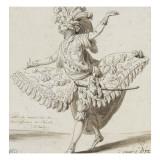 Etude de costume de théâtre Giclée-Druck von Francois Andre Vincent