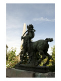 Statue from the Ancient Centaur of the Villa Adriana Giclee Print