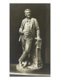 Sculpture Created by Gustave Eiffel Gustave Crauck Giclee Print