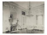 Salon de Compagnie du Petit Trianon, vue en 1900 Reproduction procédé giclée