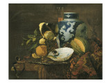 Nature morte au vase de Chine Giclee Print by Willem Kalf
