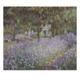 Le jardin de l'artiste à Giverny Giclee Print by Claude Monet