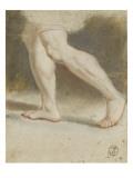 Etude de jambes Giclée-Druck von Nicolas Vleughels