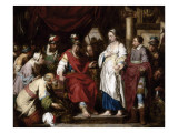La Continence de Scipion Gicl&#233;e-Druck von Pieter Jozef Verhaegen
