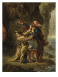 The Bride of Abydos (Byron. Canto Ii. Stanza Xxiii) Giclee Print by Eugene Delacroix