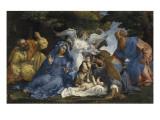 L'Adoration de l'Enfant Jésus Giclee Print by Lorenzo Lotto