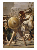 Les Sabines Giclee Print by Jacques-Louis David